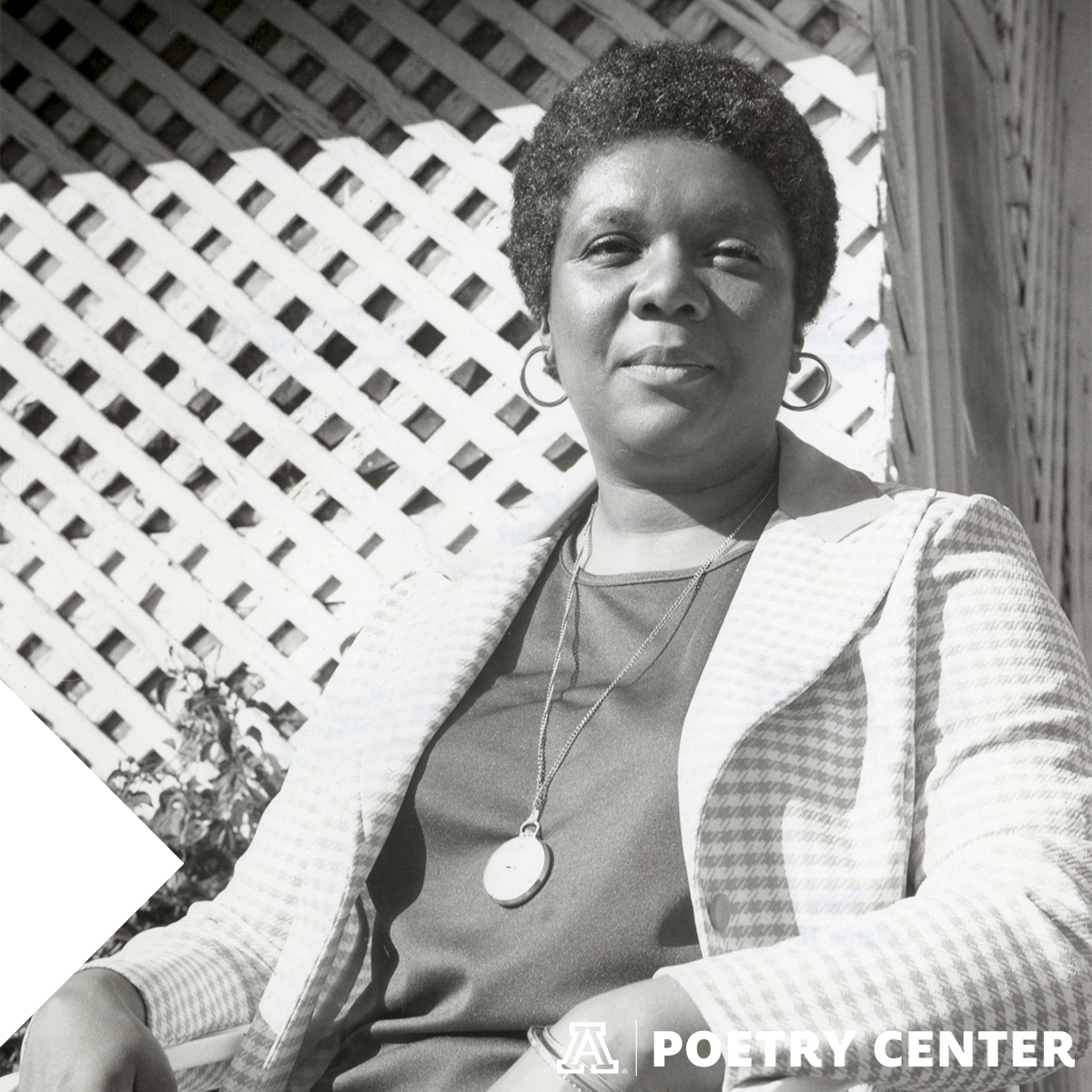 Photo of Lucille Clifton, 1975, by LaVerne Harrell Clark